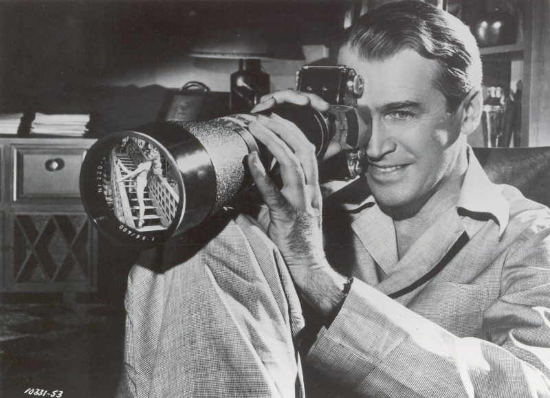 Rear Window, 1954, Alfred Hitchcock