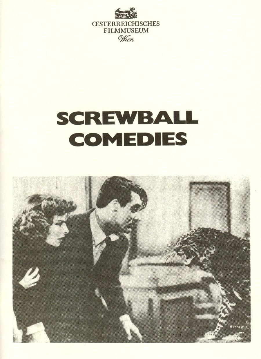 Cover Screwball Comedies