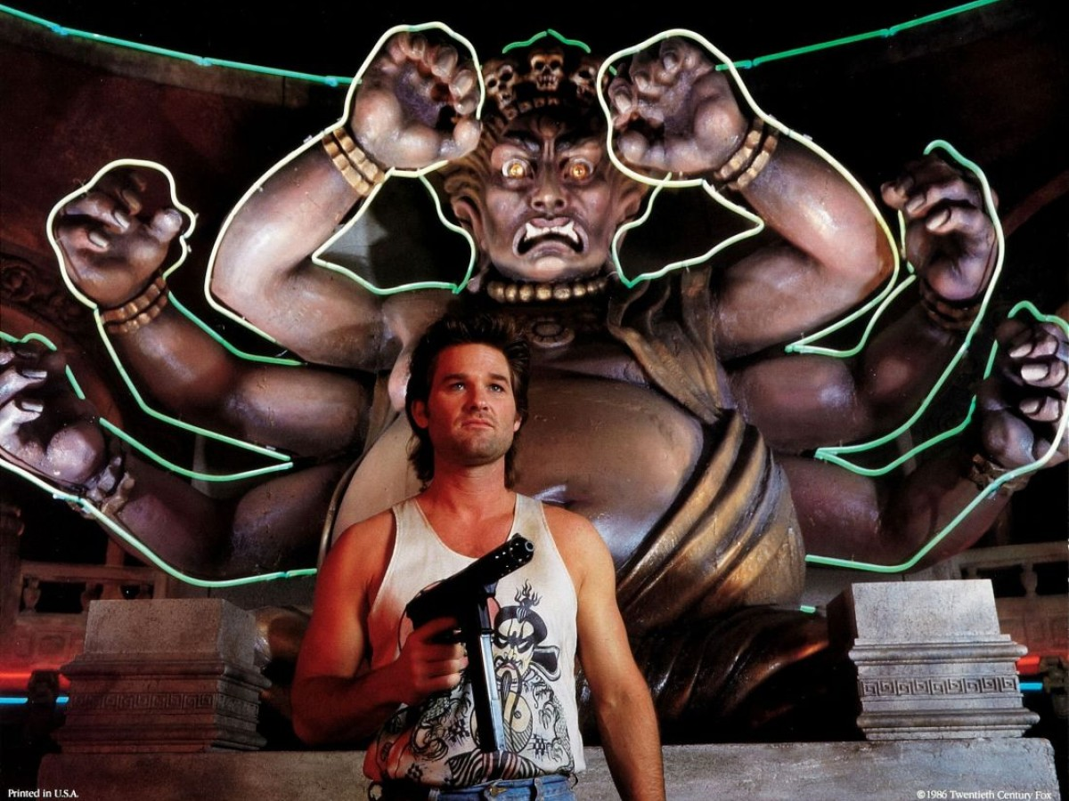 Big Trouble in Little China, 1986, John Carpenter